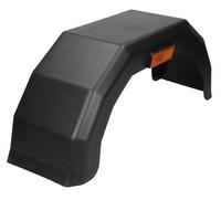 Aripa de plastic pentru remorca, ECD Germany, anvelopa 10 inchi