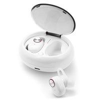 Bluetooth fülhallgató AlianX, Tws V5, Bluetooth v5.0, fehér
