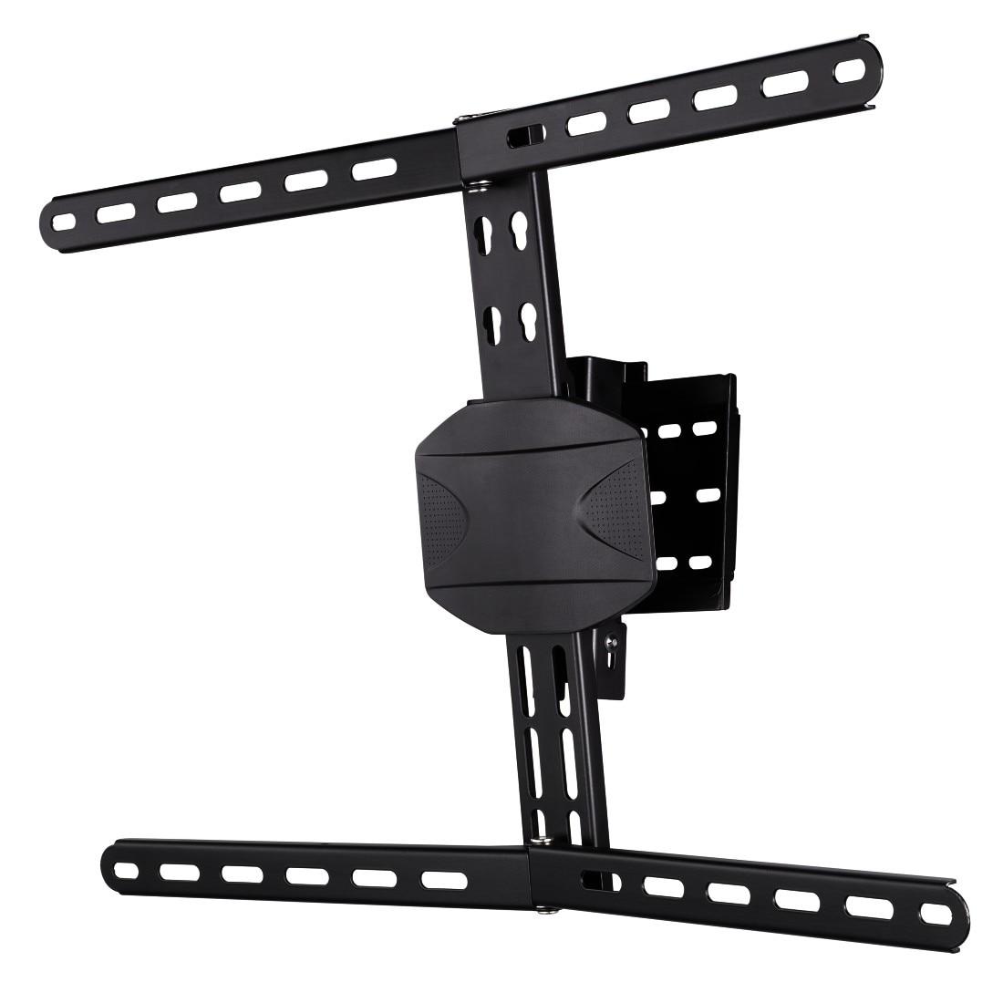 "Fotografie Suport TV inclinat Hama, VESA 600x400, 229 cm (90""), pentru TV curbat, negru"