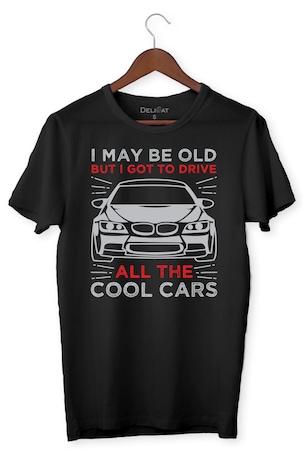 Тениска, Cool Cars, DeliCat BG, Черен, BMW
