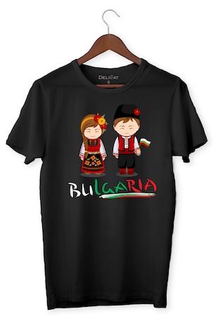 Тениска, BULGARIA, DeliCat BG, Бяла, България, Черен