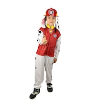 Детски карнавален костюм HuxyMascots, Пес Патрул, Маршал, размер 110