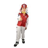 Детски карнавален костюм HuxyMascots, Пес Патрул, Маршал, размер 116