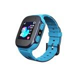 Ceas smartwatch GPS copii MoreFIT™ MX150, cu GPS prin lbs si functie telefon, localizare camera foto frontala, monitorizare spion, display touchsreen color, lanterna, buton SOS,buton apel si sos lateral, Albastru
