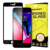 Стъклен Протектор Wozinsky за iPhone 7, Tempered Glass, Full Glue, Черен