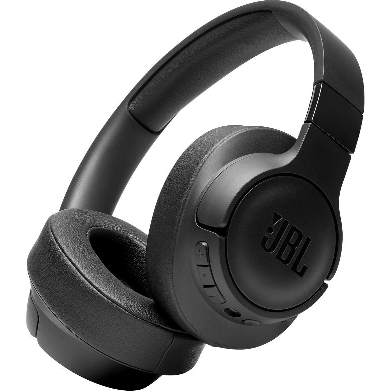 Fotografie Casti Audio Over the ear JBL Tune 700, Wireless, Bluetooth, Functie bass, Noise cancelling, Autonomie 15 ore, Negru