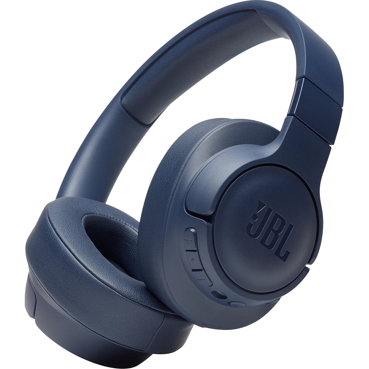 Fotografie Casti JBL TUNE 750, Active Noise Cancelling, Pure Bass, Hands-Free & Voice Control, Multi-Point Connection, Bluetooth Streaming, 15H Playback, Albastru