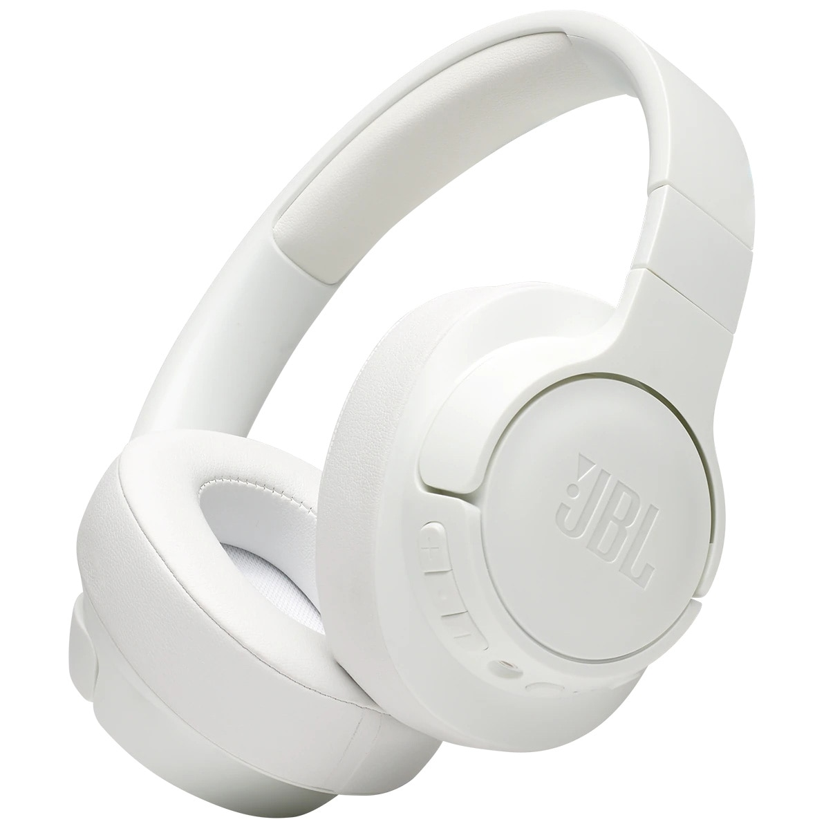 Fotografie Casti JBL TUNE 750, Active Noise Cancelling, Pure Bass, Hands-Free & Voice Control, Multi-Point Connection, Bluetooth Streaming, 15H Playback, Alb