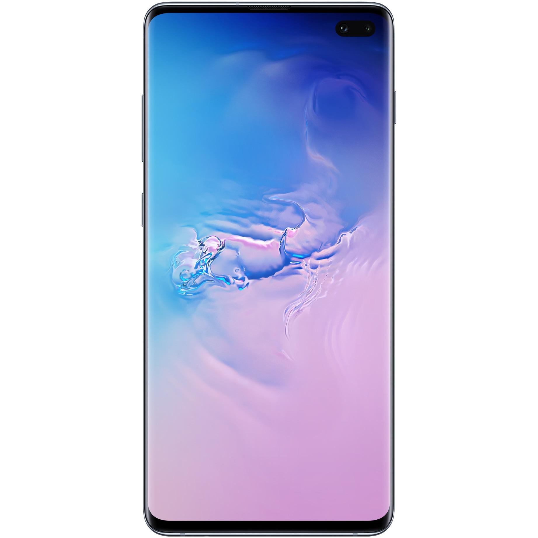 Fotografie Telefon mobil Samsung Galaxy S10+, Dual SIM, 128GB, 8GB RAM, 4G, Prism Blue