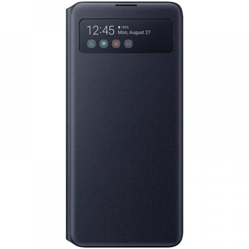 Fotografie Husa de protectie Samsung S View Wallet Cover pentru Galaxy Note 10 Lite, Black