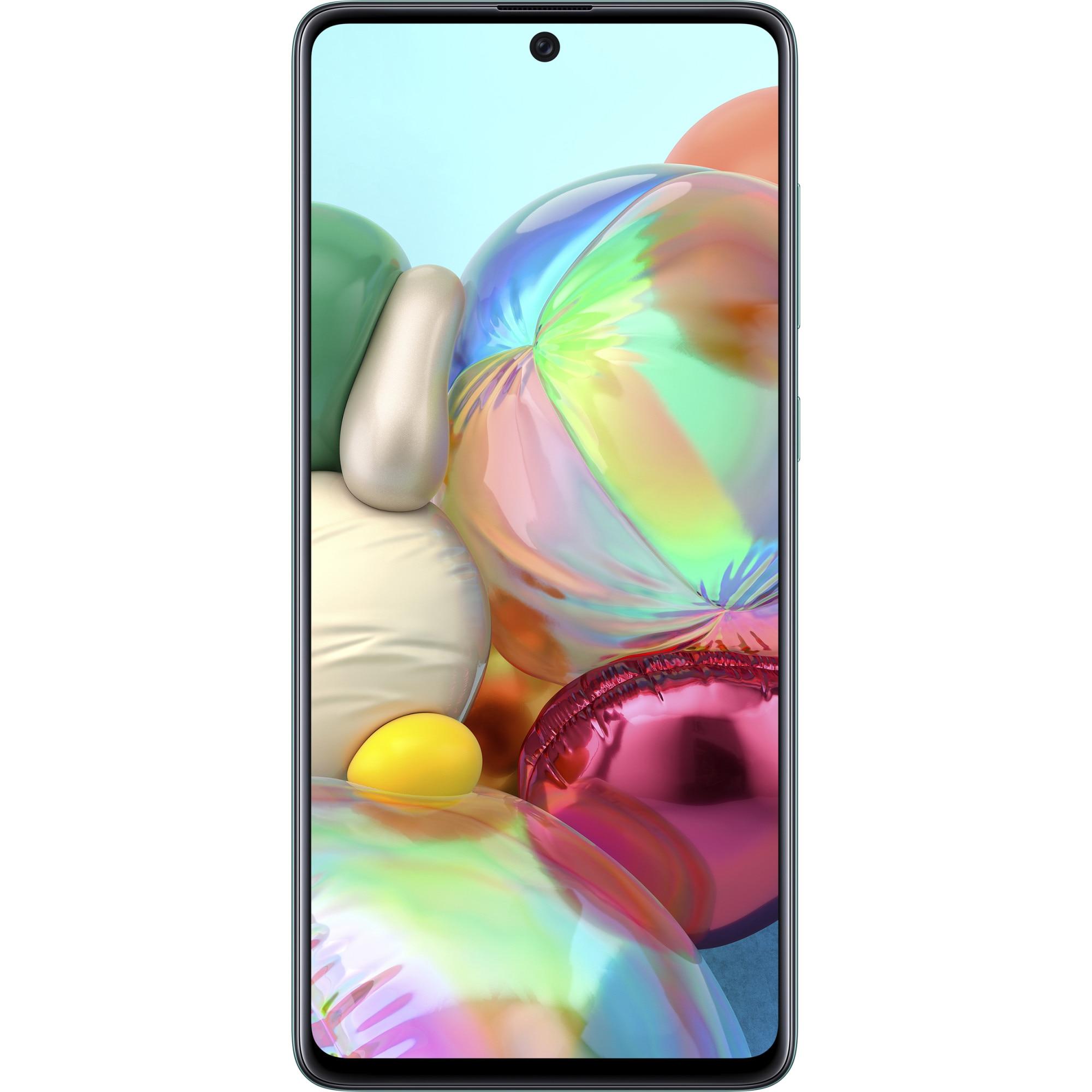 Fotografie Telefon mobil Samsung Galaxy A71, Dual SIM, 128GB, 6GB RAM, 4G, Blue