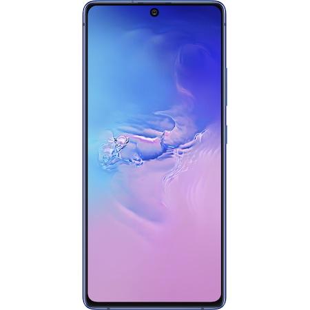 Telefon mobil Samsung Galaxy S10 LITE, Dual SIM, 128GB, 8GB RAM, 4G, Blue