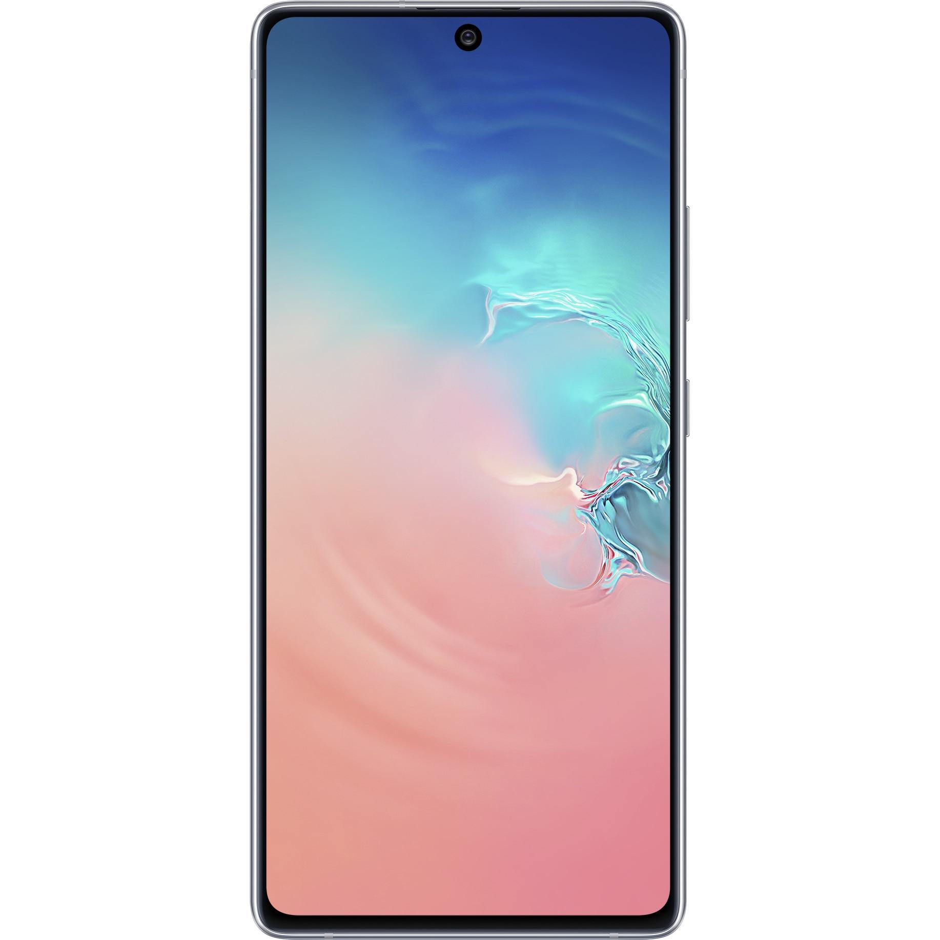 Fotografie Telefon mobil Samsung Galaxy S10 LITE, Dual SIM, 128GB, 8GB RAM, 4G, White