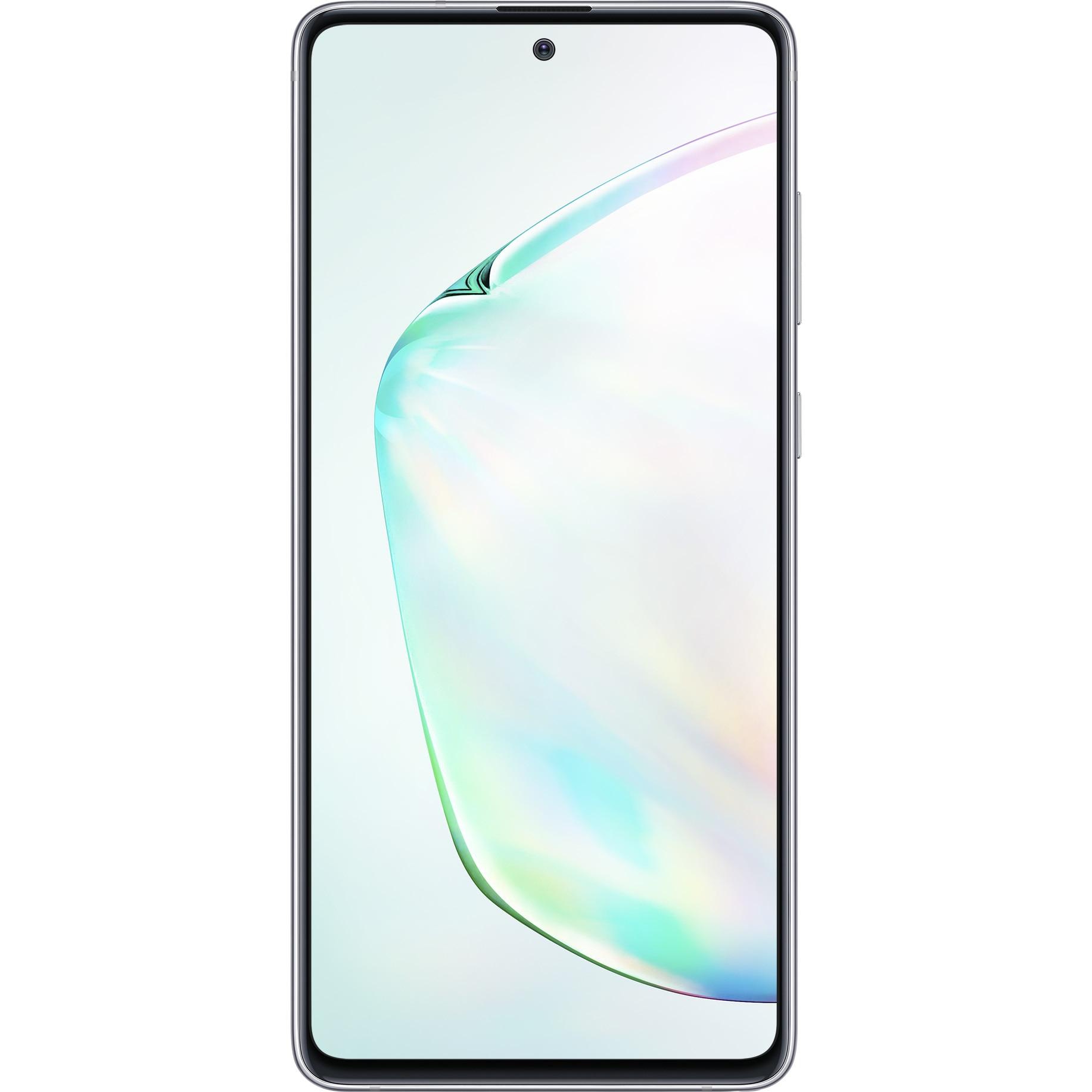 Fotografie Telefon mobil Samsung Galaxy Note 10 LITE, Dual SIM, 128GB, 6GB RAM, 4G, Silver