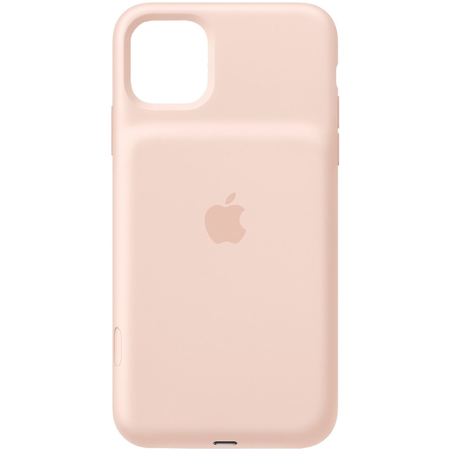Fotografie Carcasa iPhone 11 Pro Max Apple Smart Battery Case, Wireless Charging, Pink Sand