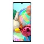Samsung Galaxy A71 Mobiltelefon, Kártyafüggetlen, Dual SIM, 128GB, LTE, Kék
