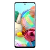 Samsung Galaxy A71 Mobiltelefon, Kártyafüggetlen, Dual SIM, 128GB, LTE, Fekete