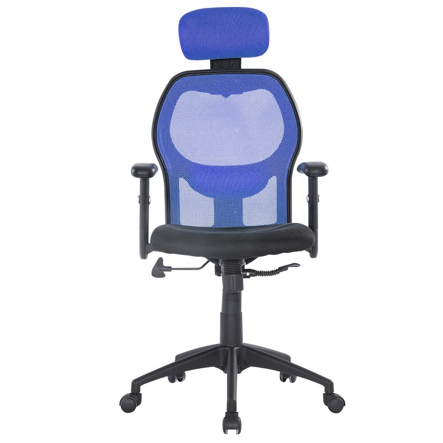 Kring Uno Ergonómikus irodai szék, Hálós, FeketeKék eMAG.hu