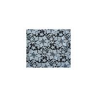 Dantela alba brodata de bumbac, sabit networks,129 cm, 1M