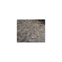 Paiete rotunde argintii de 3 mm pe tul alb, sabit networks,120 cm, 1M