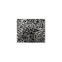 Paiete rotunde negre si argintii de 3 mm pe tul negru, Sabit Networks,130 cm, 1M