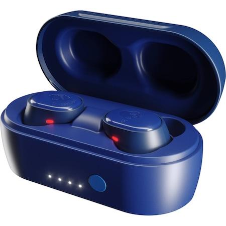 Casti Audio In Ear Skullcandy Sesh, True Wireless, Bluetooth, Microfon, Autonomie 10 ore, Indigo Blue