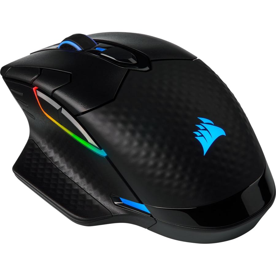 Fotografie Mouse gaming Corsair Dark Core Pro, Iluminare RGB, Negru