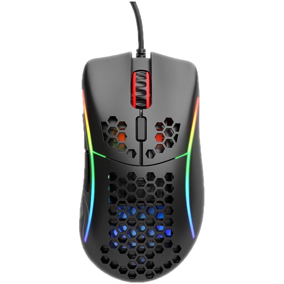 Fotografie Mouse gaming Glorious Model D, Ultrausor 68g, Negru Mat
