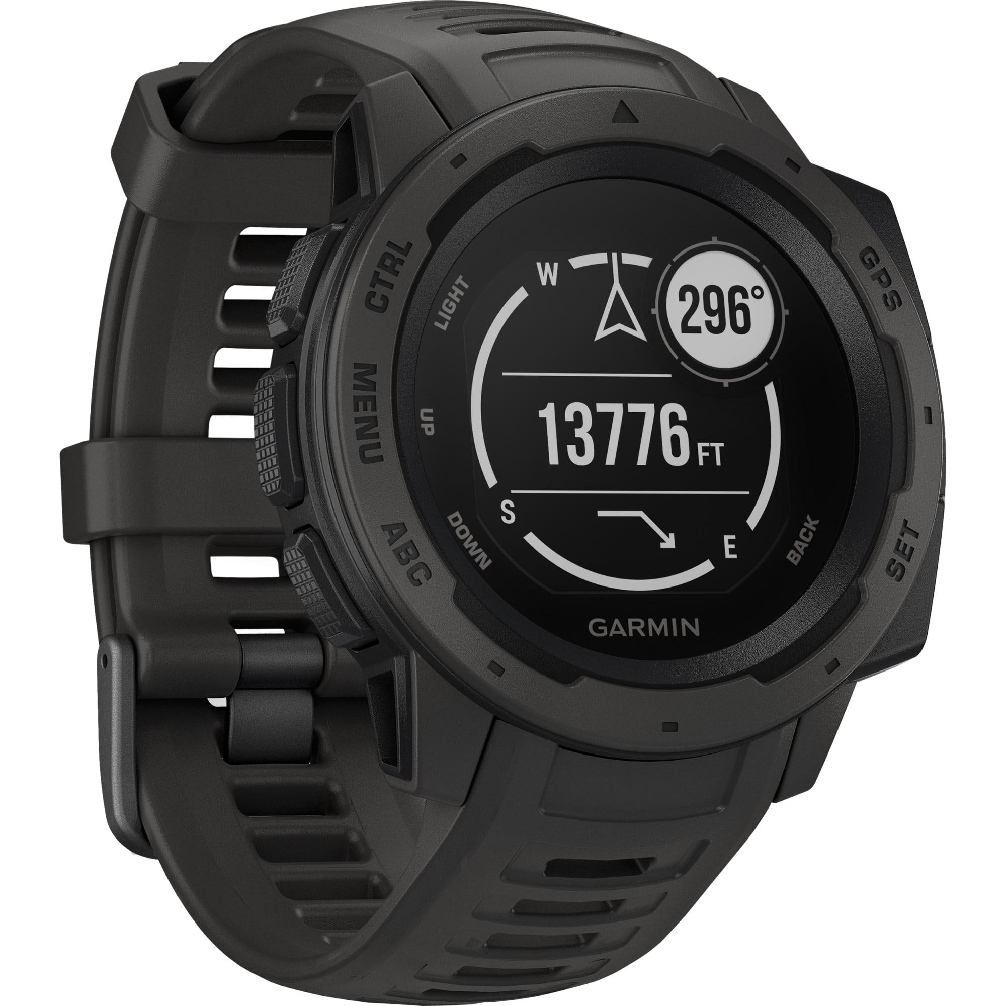 Fotografie Ceas Smartwatch Garmin Instinct, GPS, Black
