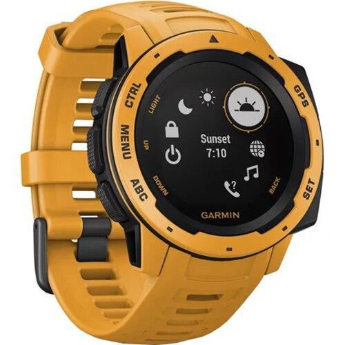 Fotografie Ceas Smartwatch Garmin Instinct, GPS, Galben