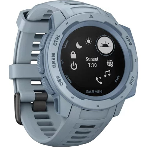 Fotografie Ceas Smartwatch Garmin Instinct, GPS, Albastru deschis
