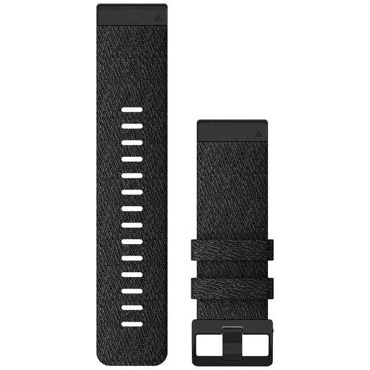 Fotografie Curea Ceas Smartwatch Garmin Fenix 6X, 26mm, QuickFit, nylon, Heathered Black