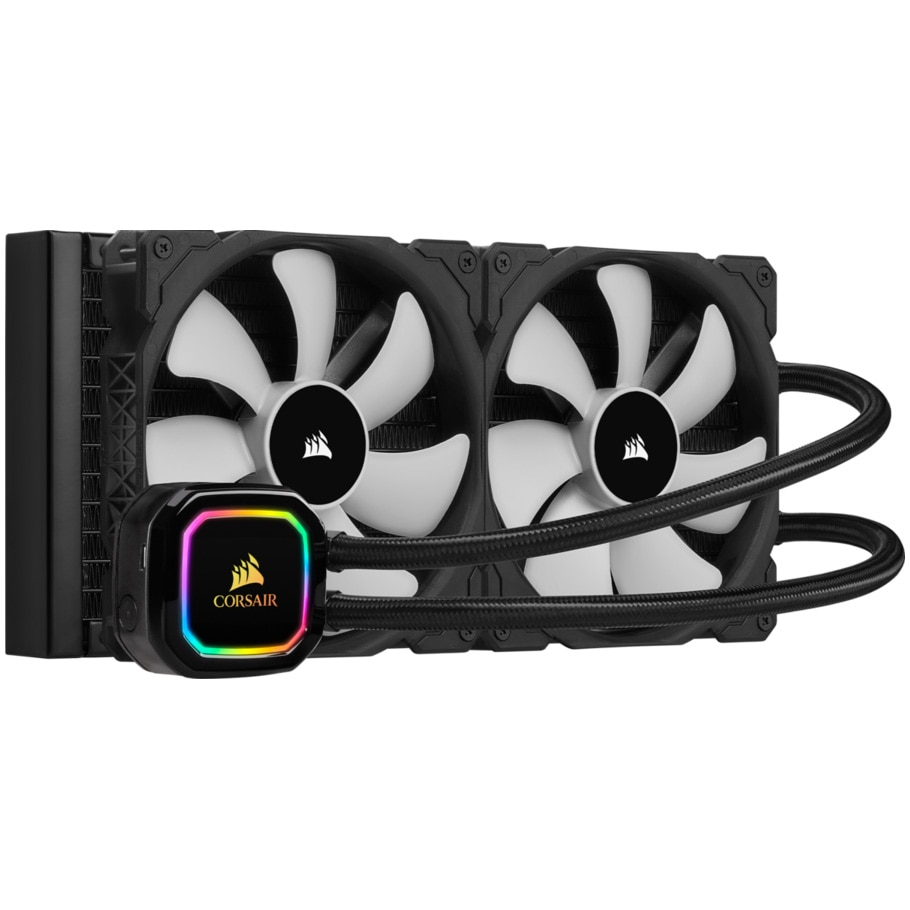 Fotografie Cooler procesor iCUE H115i RGB PRO XT Liquid, compatibil AMD/Intel