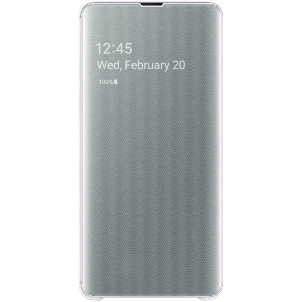 Fotografie Husa de protectie Samsung Clear View Cover pentru Galaxy S10 5G, White