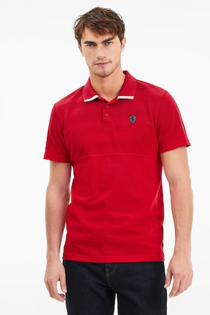 Puma, Ferrari galléros póló, Piros