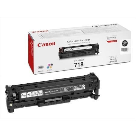 Мастило Canon CRG-718Bk Черно