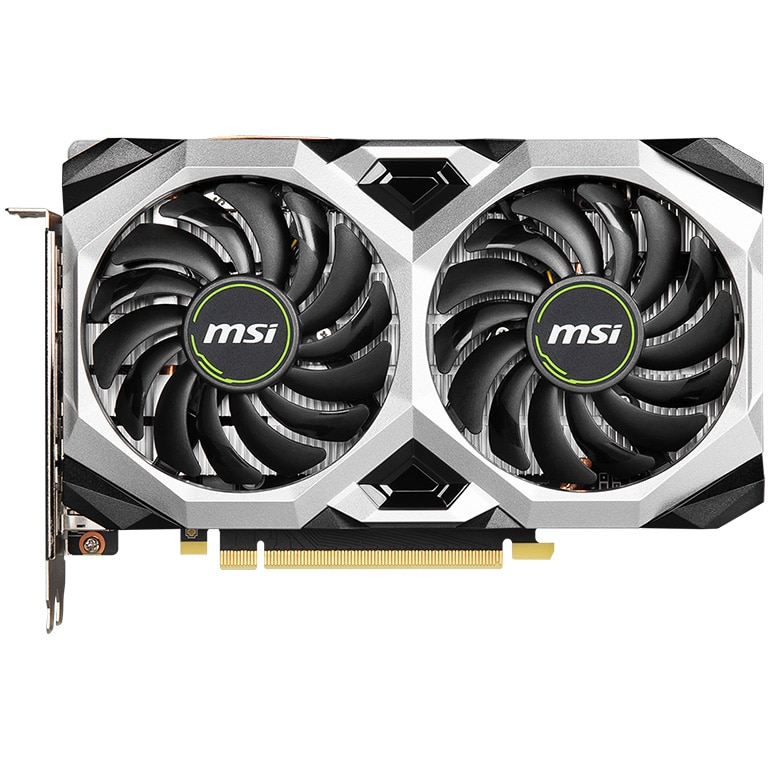 Fotografie Placa video MSI GeForce GTX 1660 SUPER VENTUS XS OC, 6GB GDDR6, 192-bit