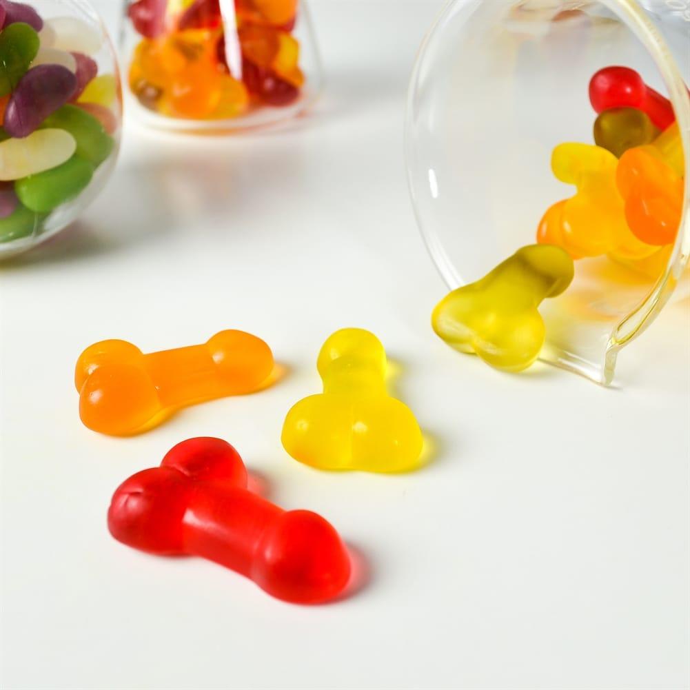 S&F Jelly Willies Bomboane de gelatină în formă de penis g |