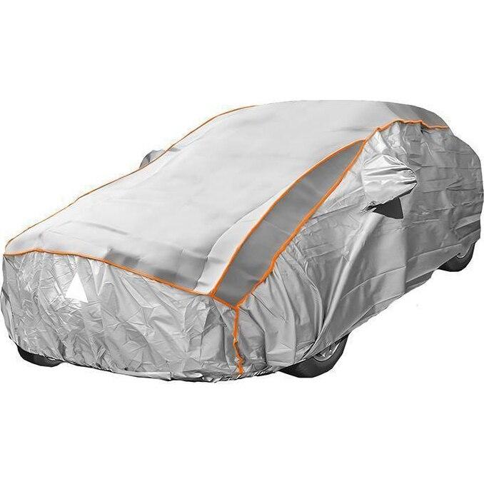 Fotografie Prelata auto impermeabila cu protectie pentru grindina RoGroup, 3 straturi, marimea XL