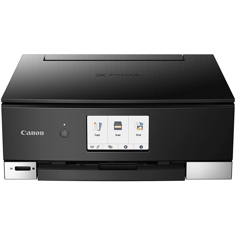 Fotografie Multifunctional Inkjet Canon Pixma TS8350 Black, InkJet, Color, Format A4, Retea, duplex, Wi-Fi