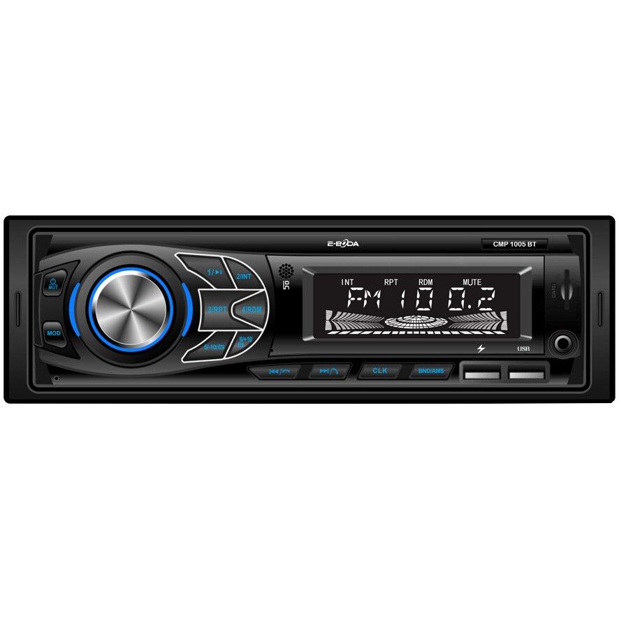 Fotografie Player auto E-BODA CMP 1005 BT, MP3, USB, Bluetooth, Radio, 4x45W, Negru