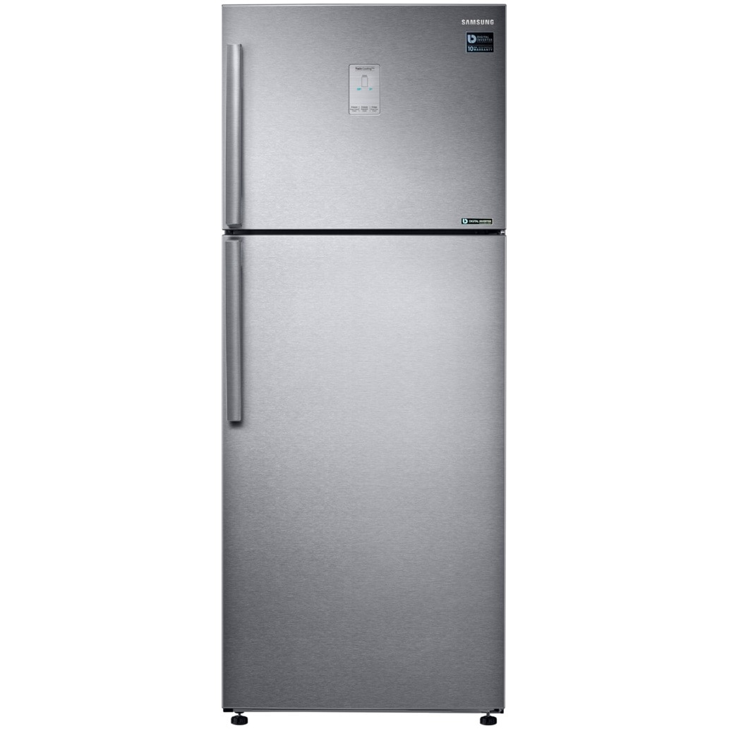 Fotografie Frigider cu doua usi Samsung RT43K6335SL/EO ,440 l, Clasa A++, No frost, Twin Cooling Plus, Smart Convertible, H 178.5 cm, Inox