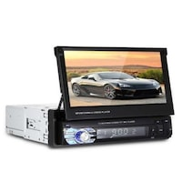 Мултимедия Automat, плеър Zappin 9601, 1 Din + камера за задно виждане, Bluetooth, FM, MP3, MP4, МР5 плейър