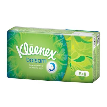 Носни кърпички Kleenex HNK Balsam REG, 8 пакета