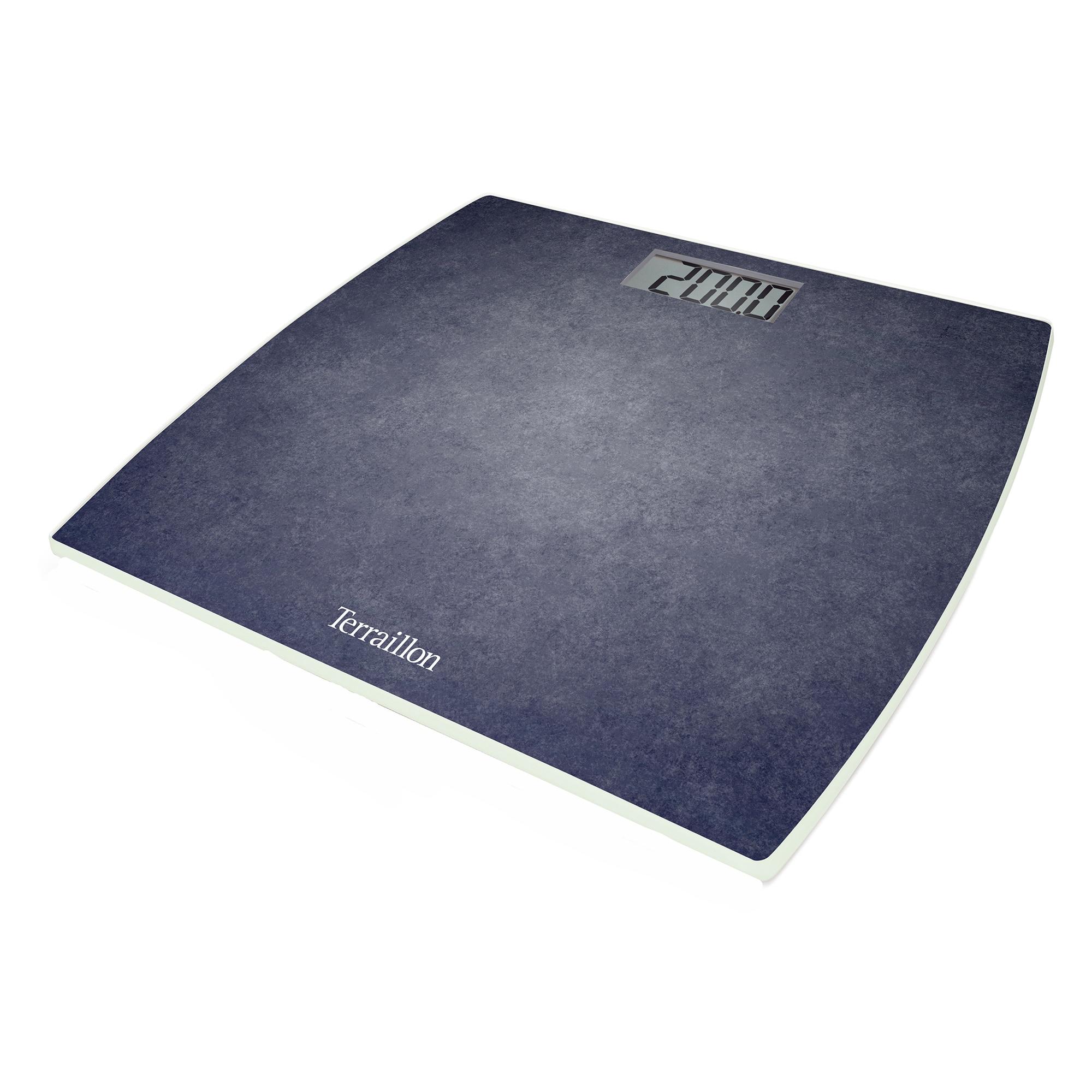 Fotografie Cantar electronic de persoane Terraillon, 200 kg, LCD, Albastru