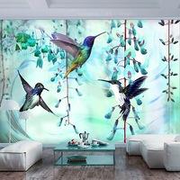 Fotótapéta - Repülő zöld kolibrik 200x140