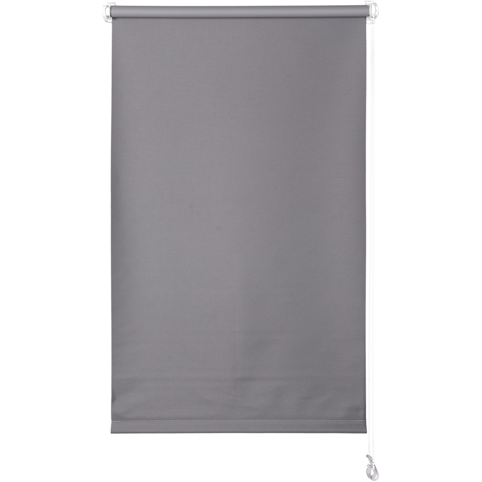 Fotografie Rulou textil opac blackout Kring, 100 % poliester, 190 gsm, 56x150 cm, Gri