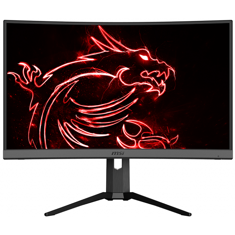 "Fotografie Monitor gaming curbat LED VA MSI 27"", WQHD, Display Port, 165Hz, 1ms, Negru"