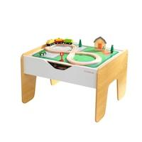 2 az 1-ben játékkészlet KidKraft - Activity Table with Board , 3 év +