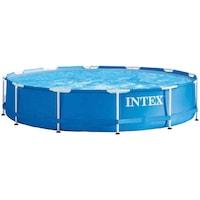 Intex Fémkeretes Medence 366x76cm